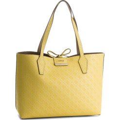 Torebka GUESS - HWEM64 22150 LET. Szare torebki klasyczne damskie marki Guess, z aplikacjami, ze skóry ekologicznej, duże. W wyprzedaży za 419,00 zł.