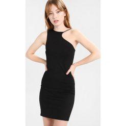 Sukienki hiszpanki: Topshop CHAIN CURVE MINI Sukienka z dżerseju black