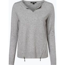 Comma - Sweter damski, szary. Szare swetry klasyczne damskie comma, z wełny. Za 359,95 zł.