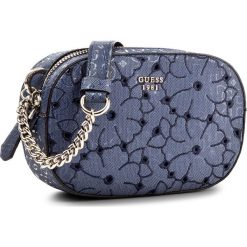 Listonoszki damskie: Torebka GUESS - Jayne (SG) Mini-Bag HWSG69 61700 BLU