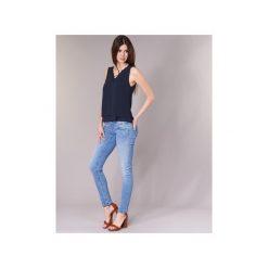 Jeansy slim fit Freeman T.Porter  ALEXA SLIM SDM. Niebieskie jeansy damskie relaxed fit marki Freeman T. Porter. Za 479,00 zł.