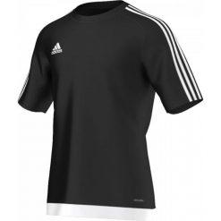 Odzież sportowa męska: Adidas Koszulka piłkarska męskie Estro 15 czarno-biała r. L (S16147)