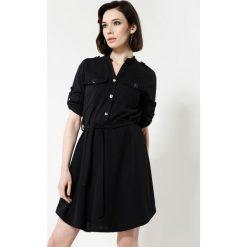 Sukienki hiszpanki: Czarna Sukienka Remarkable