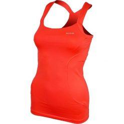 Reebok Koszulka Strap Vest Bright pomarańczowa r. XS (K24649). Brązowe topy sportowe damskie Reebok, xs. Za 35,90 zł.