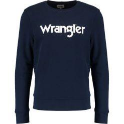 Wrangler LOGO Bluza navy. Szare bluzy męskie marki Wrangler, l, z poliesteru, z kapturem. Za 199,00 zł.