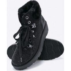 S. Oliver - Botki. Szare buty zimowe damskie marki S.Oliver, z gumy. W wyprzedaży za 159,90 zł.