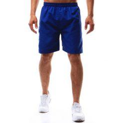 Spodenki i szorty męskie: Spodenki kąpielowe męskie niebieskie (sx0351)