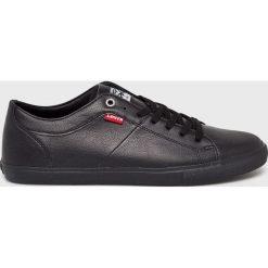 Levi's - Buty Woods. Brązowe buty skate męskie marki Levi's®, z gumy, na sznurówki. Za 229,90 zł.