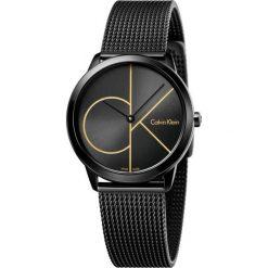 ZEGAREK CALVIN KLEIN Minimal Midsize K3M224X1. Czarne zegarki damskie Calvin Klein, szklane. Za 1169,00 zł.