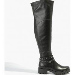 Kozaki czarne Atena. Fioletowe buty zimowe damskie marki Badura. Za 375,99 zł.