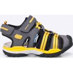 Geox - Sandały dziecięce. Szare sandały chłopięce Geox, z materiału. W wyprzedaży za 219,90 zł.