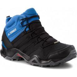 Buty adidas - Terrex AX2R Mid GTX GORE-TEX AC8035  Cblack/Cblack/Blubea. Czarne buty trekkingowe męskie Adidas, z gore-texu, outdoorowe, adidas terrex, gore-tex. W wyprzedaży za 409,00 zł.