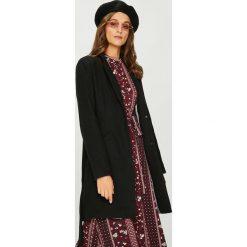 Vero Moda - Płaszcz. Brązowe płaszcze damskie pastelowe Vero Moda, l, z bawełny, klasyczne. W wyprzedaży za 239,90 zł.