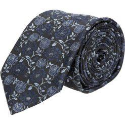 Krawat kwiaty czarny 100. Czarne krawaty męskie Recman, w kwiaty. Za 49,00 zł.