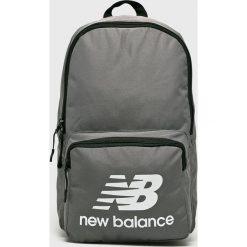 New Balance - Plecak. Szare plecaki męskie New Balance, z poliesteru. Za 99,90 zł.
