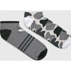 Adidas Originals - Skarpety (2-pack). Szare skarpetki męskie adidas Originals, z bawełny. W wyprzedaży za 34,90 zł.
