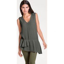 Odzież damska: Bluzka w kolorze khaki