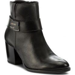 Botki LASOCKI - 1410-03 Czarny. Czarne buty zimowe damskie Lasocki, ze skóry. Za 249,99 zł.