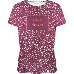 Colour Pleasure Koszulka damska CP-030 253 fioletowa r. M/L. Fioletowe bluzki damskie Colour pleasure, l. Za 70,35 zł.