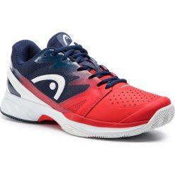 Buty HEAD - Sprint Pro 2.0 Clay 273118 Red/Black Iris 065. Czarne buty do biegania męskie marki Asics. W wyprzedaży za 389,00 zł.
