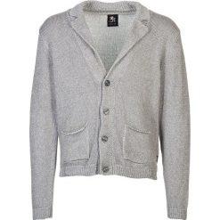Swetry rozpinane męskie: Kardigan w kolorze szarym