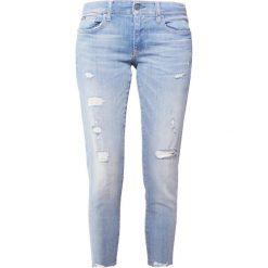 Polo Ralph Lauren TOMPKINS CRO  Jeansy Slim Fit light indigo. Niebieskie jeansy damskie Polo Ralph Lauren. Za 839,00 zł.