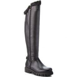 Muszkieterki EVA MINGE - Cotillas 4U 18SM1372502EF 101. Czarne buty zimowe damskie Eva Minge, z materiału. W wyprzedaży za 499,00 zł.