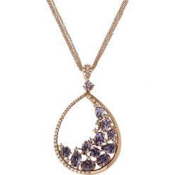 Naszyjniki damskie: Wyjątkowy Naszyjnik – złoto różowe 750, Brylant 0,60ct