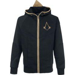 Assassin's Creed Logo Bluza z kapturem rozpinana czarny/złoty. Brązowe bluzy męskie rozpinane marki SOLOGNAC, m, z elastanu. Za 164,90 zł.