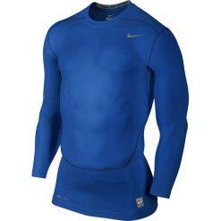 Nike Koszulka męska Pro Combat Cool Compression niebieska r. XL (703088 480). Białe koszulki sportowe męskie marki Adidas, l, z jersey, do piłki nożnej. Za 97,99 zł.