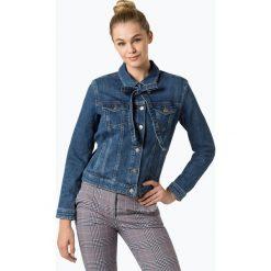 Bomberki damskie: BOSS Casual - Damska kurtka jeansowa – J90 Ohio, niebieski