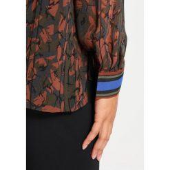 Koszule wiązane damskie: Sisley Koszula green/orange
