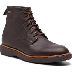 Kozaki CLARKS - Modur Hi Gtx GORE-TEX 261355597 Dark Brown Leather. Brązowe botki męskie Clarks, z gore-texu. Za 669,00 zł.