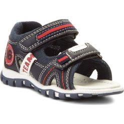 Sandały chłopięce: Sandały ACTION BOY – CM170706-30 Granatowy/Czerwony