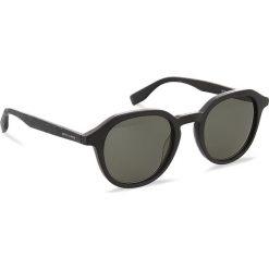 Okulary przeciwsłoneczne BOSS - 0321/S MtBlack Wood 2W7. Czarne okulary przeciwsłoneczne męskie aviatory Boss, z tworzywa sztucznego. W wyprzedaży za 399,00 zł.
