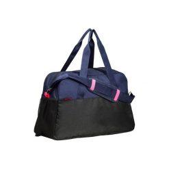 Torba fitness kardio 30l. Niebieskie torebki klasyczne damskie DOMYOS, z materiału. Za 79,99 zł.