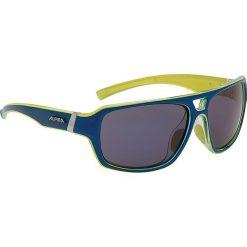 """Okulary przeciwsłoneczne """"Yuko"""" w kolorze niebiesko-czarnym. Brązowe okulary przeciwsłoneczne damskie lenonki marki Triwa, z tworzywa sztucznego. W wyprzedaży za 130,95 zł."""