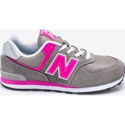 Buty sportowe dziewczęce: New Balance – Buty dziecięce GC574GP