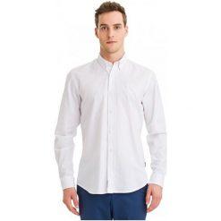 Galvanni Koszula Męska Kortrijk L Biały. Białe koszule męskie GALVANNI, l, z bawełny. W wyprzedaży za 189,00 zł.