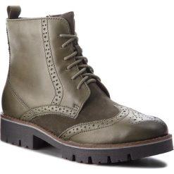 Trapery CAPRICE - 9-25209-21 Khaki Komb 740. Zielone buty zimowe damskie Caprice, z gumy. W wyprzedaży za 279,00 zł.