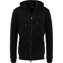 Emporio Armani FELPA Bluza rozpinana nero. Czarne bluzy męskie rozpinane Emporio Armani, m, z bawełny. Za 719,00 zł.