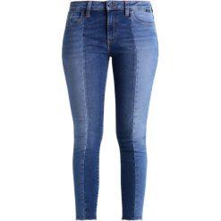 Mavi TESS Jeans Skinny Fit mid shaded blocking gold. Niebieskie rurki damskie Mavi. Za 309,00 zł.