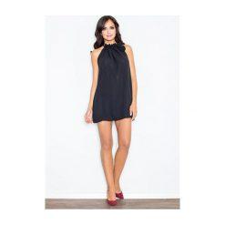 Sukienka Fifi M065 Czarna. Białe sukienki dzianinowe marki NIFE, eleganckie. Za 99,00 zł.