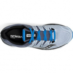Buty do biegania męskie SAUCONY HURRICANE ISO 4 WIDE / S20412-2. Szare buty do biegania męskie marki Saucony. Za 699,00 zł.