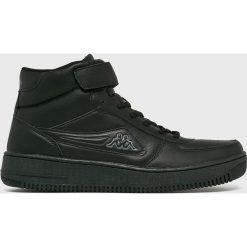 Kappa - Buty. Czarne buty skate męskie Kappa, z materiału, na sznurówki. W wyprzedaży za 129,90 zł.