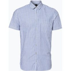 BOSS Casual - Koszula męska – Cattitude_1-short, niebieski. Niebieskie koszule męskie na spinki BOSS Casual, m, w paski, z bawełny. Za 349,95 zł.