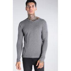 Swetry męskie: Jack & Jones JPRLUKE VNECK Sweter grey melange