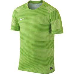 Nike Koszulka męska Flash Graphic 1 zielony r. M. Zielone koszulki sportowe męskie marki Nike, m. Za 107,13 zł.
