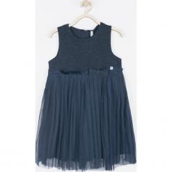 Sukienka. Niebieskie sukienki dziewczęce SPARKLE, bez rękawów. Za 89,90 zł.
