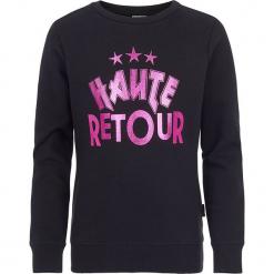 Bluza w kolorze czarnym. Czarne bluzy dziewczęce z nadrukiem marki Retour Denim de Luxe. W wyprzedaży za 95,95 zł.